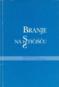 Zbornik simpozija 2001